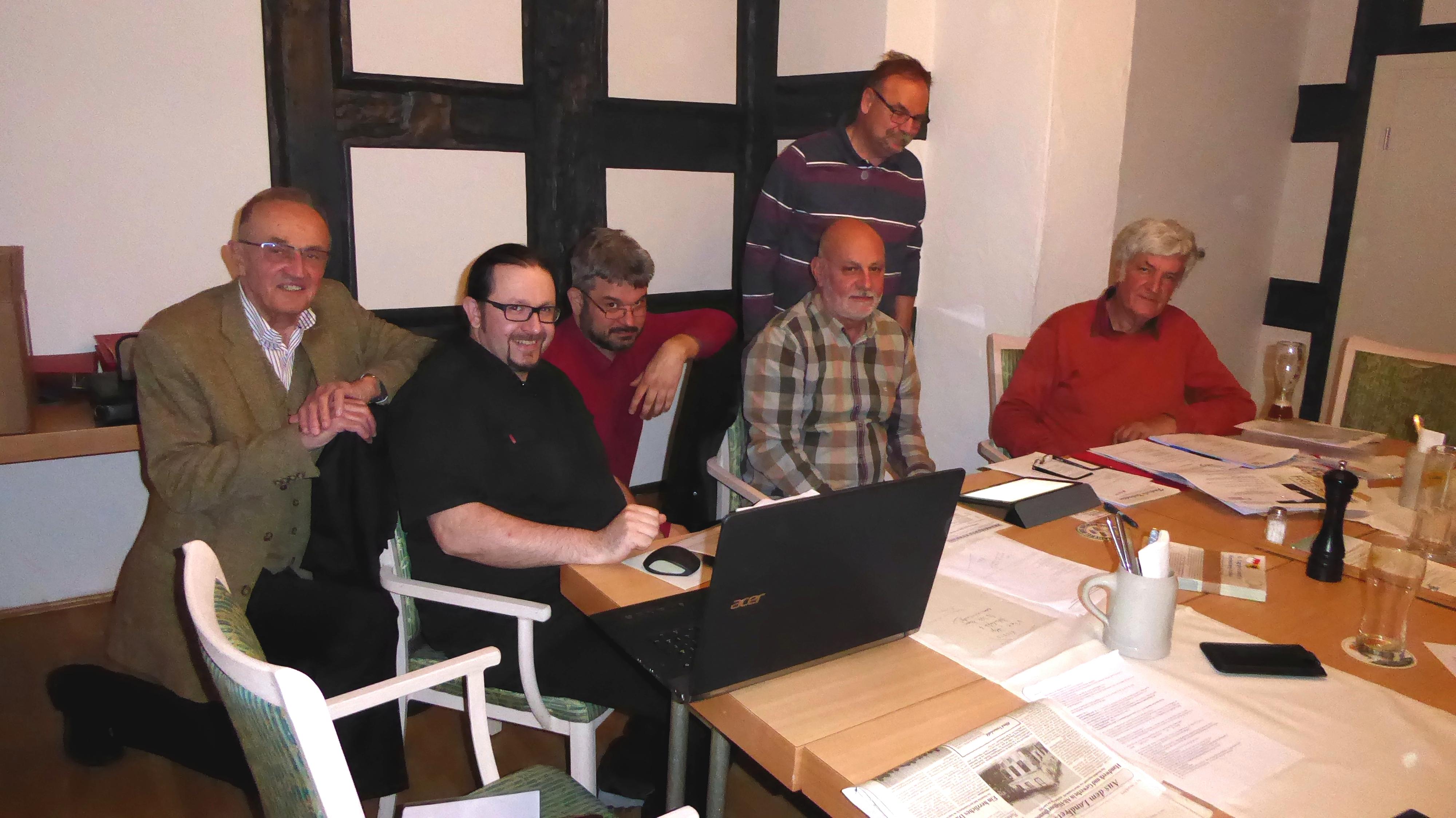 2017-04-20 Vorstandssitzung Memmelsdorf