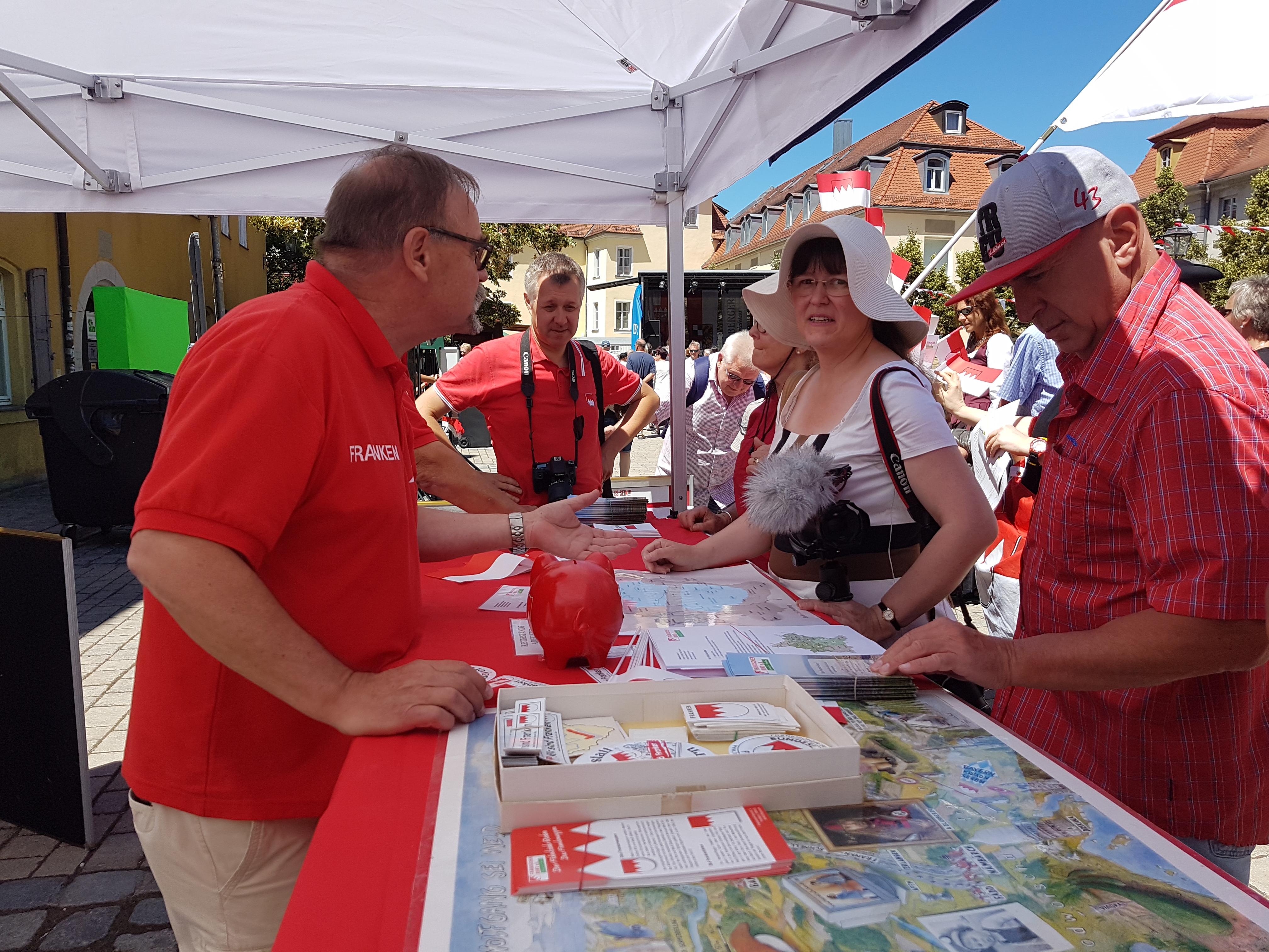 2018-07-01 Tag der Franken in Ansbach