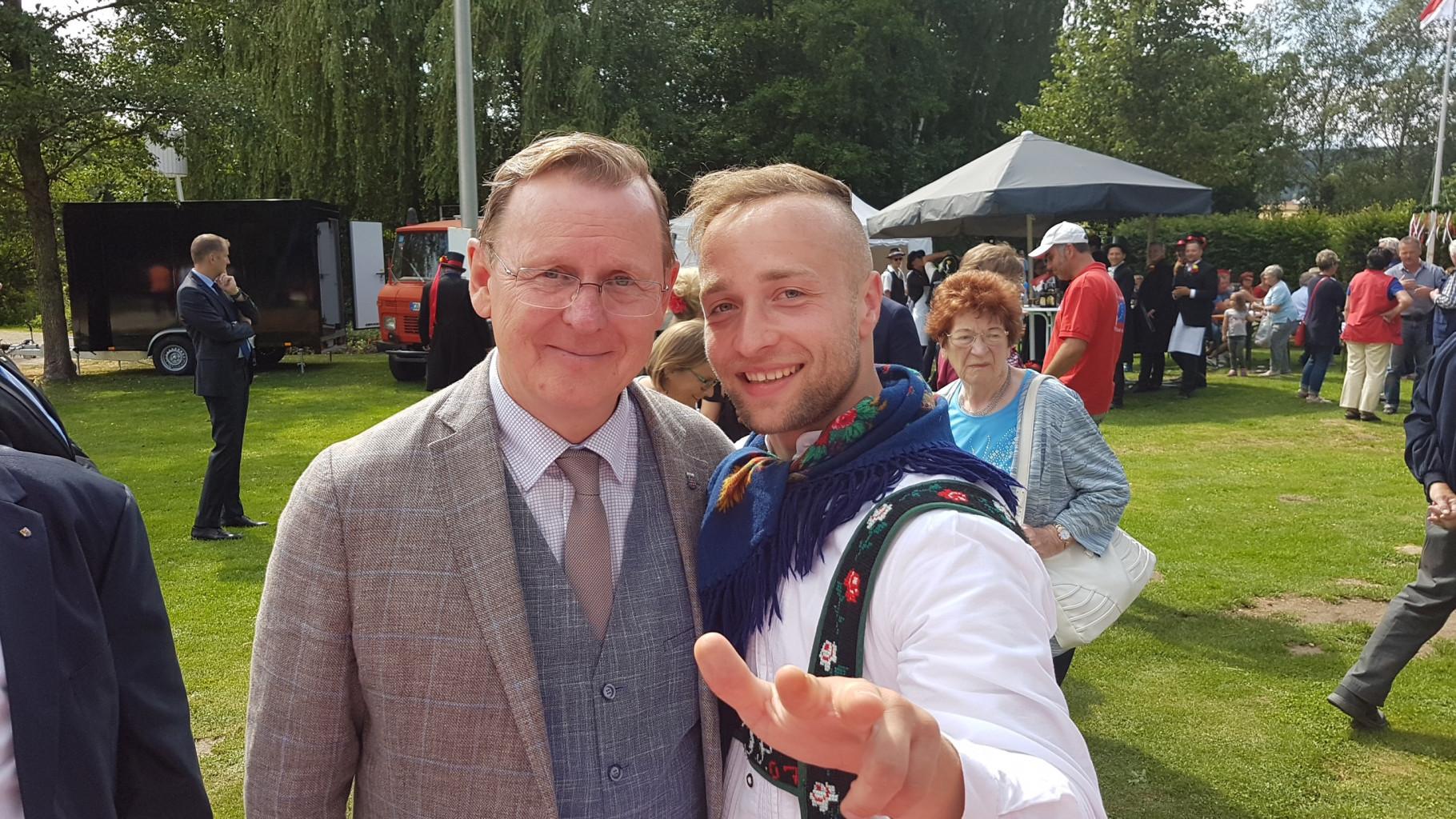 2019-07-07-Tag-d.Franken-Neustadt.Mit MP. B.Ramelow.-Fo.-O.D