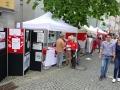2017-07-02 Tag der Franken in Kitzingen Unser Infostand!