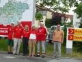 2017-07-02 Tag der Franken in Kitzingen Unser Plakat (1)