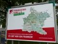 2017-07-02 Tag der Franken in Kitzingen Unser Plakat (2)