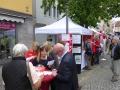 2017-07-02 Tag der Franken in Kitzingen. Reges Interesse!