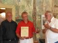 2018-07-22Verleihung der Frankenmedaille  v. li.Otto Weger Dr.Haberkamm ,Laudator Dr W.Mück