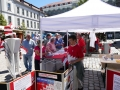 2018-07-01 Tag d.Fanken inAnsbach Großes Interesse am Infostand (2)