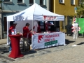 2018-07-01 Tag d.Fanken inAnsbach Großes Interesse am Infostand