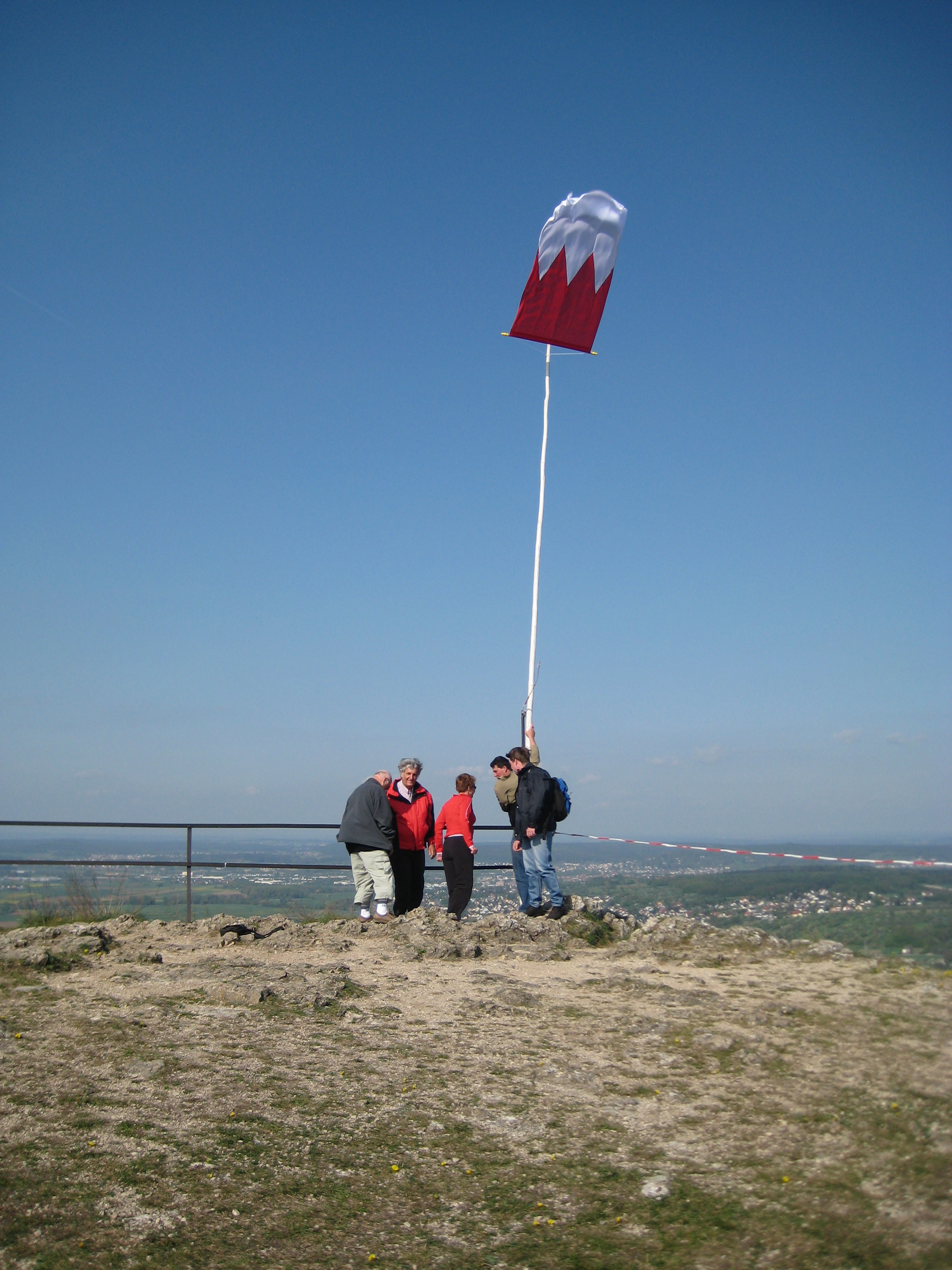 2010 4 Walberla Frankenfahne
