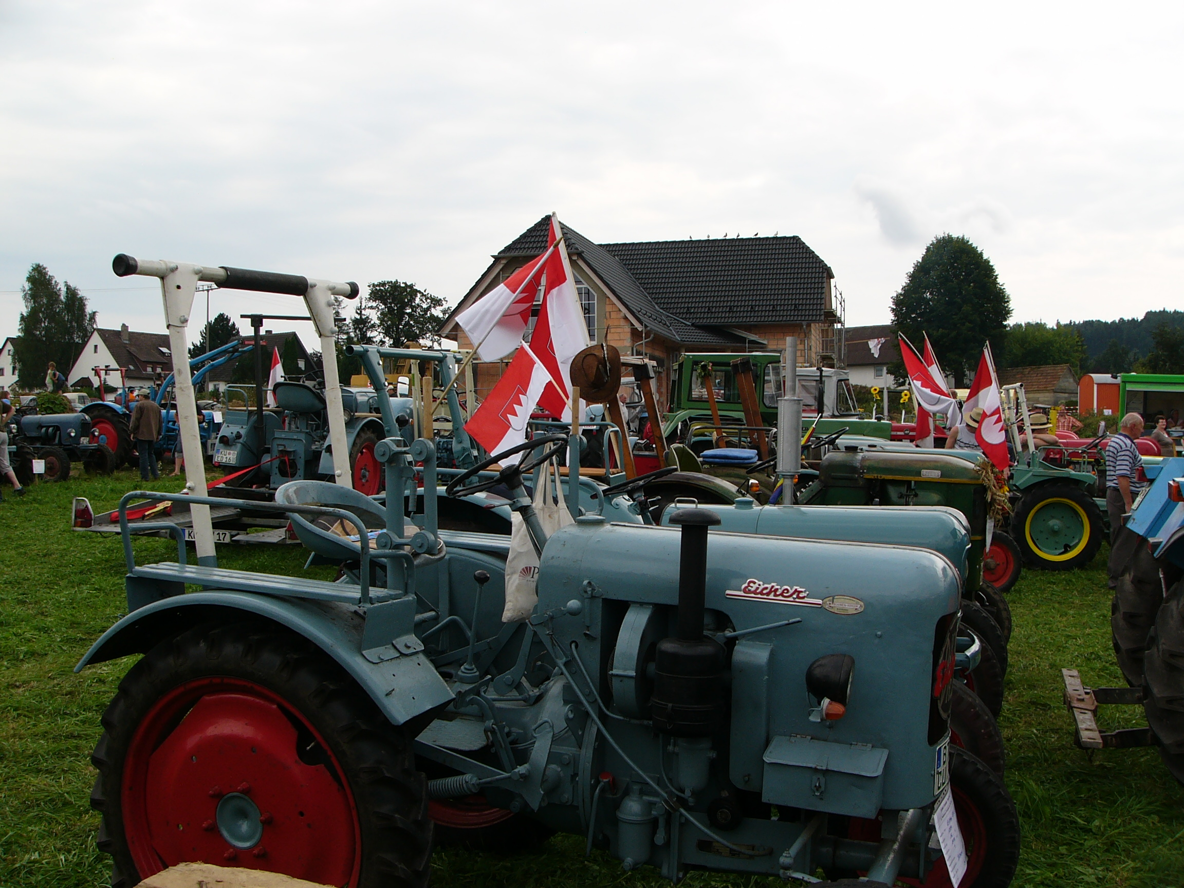 2011 8 Eicher Oldtimer in Seitenbach-BT Fo. J Kalb