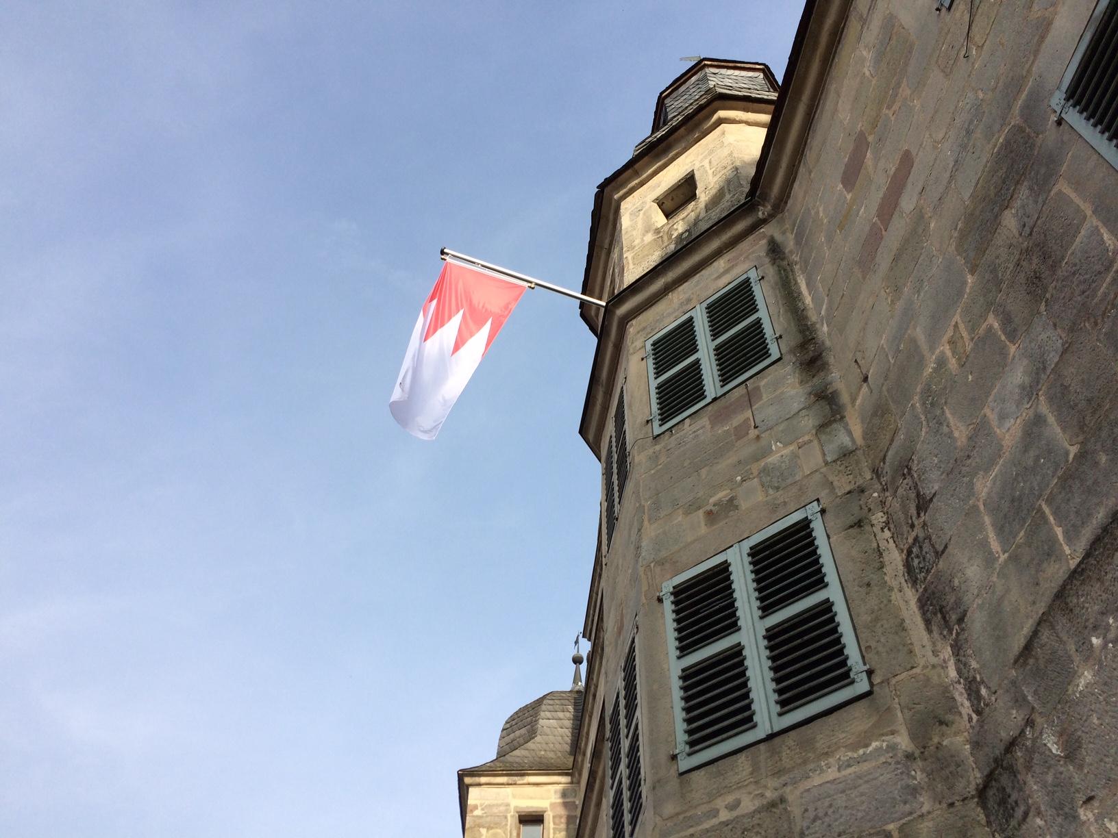 2017-03-14 Rechen am Mitwitzer Wasserschloss Foto M.