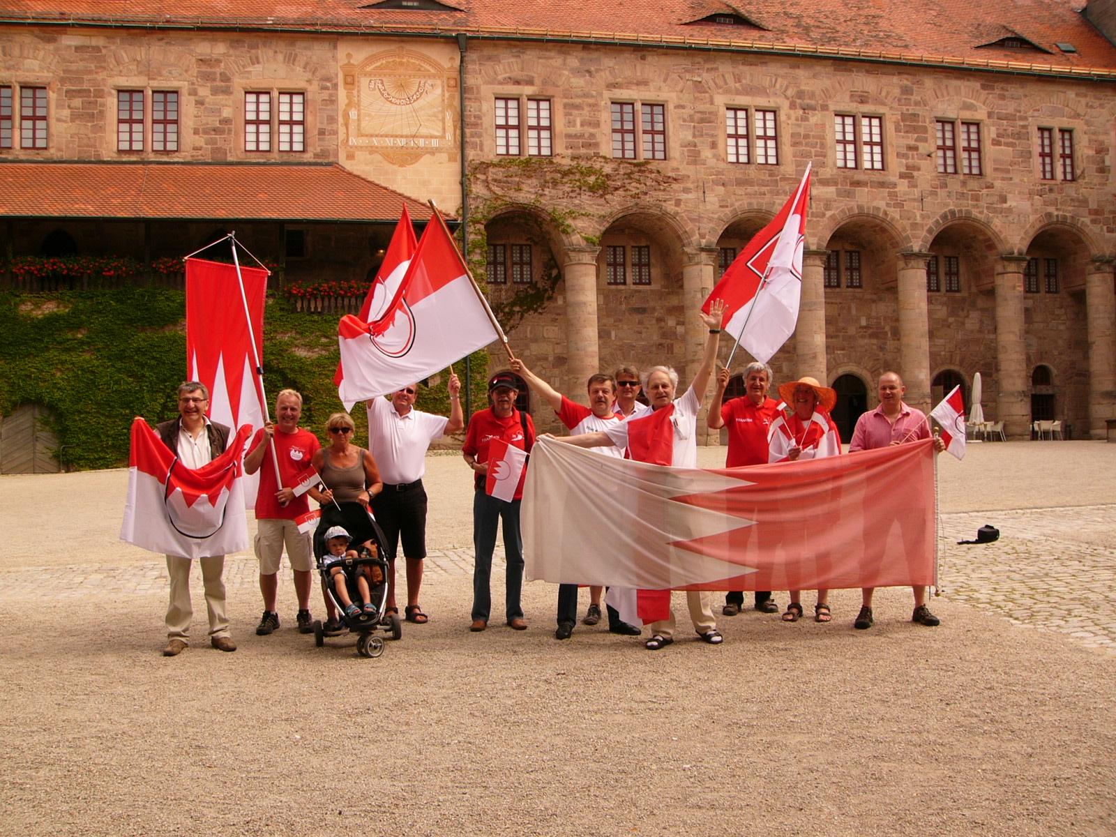 2012 6 Frankenwanderung auf die Plassenburg mit Frankenstammtisch.JPG
