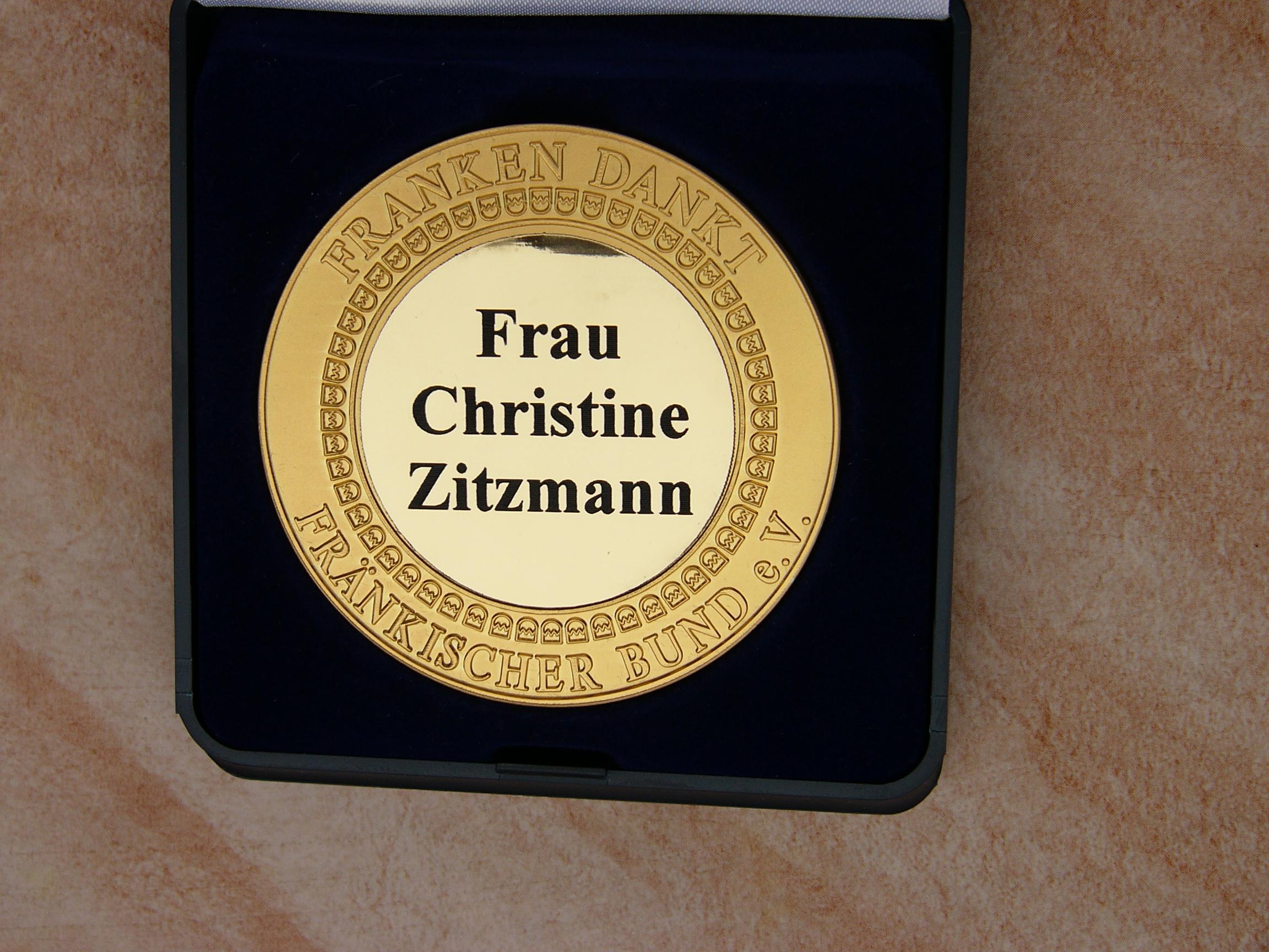 2015 10 Frankenmedaille Fo.J.Kalb