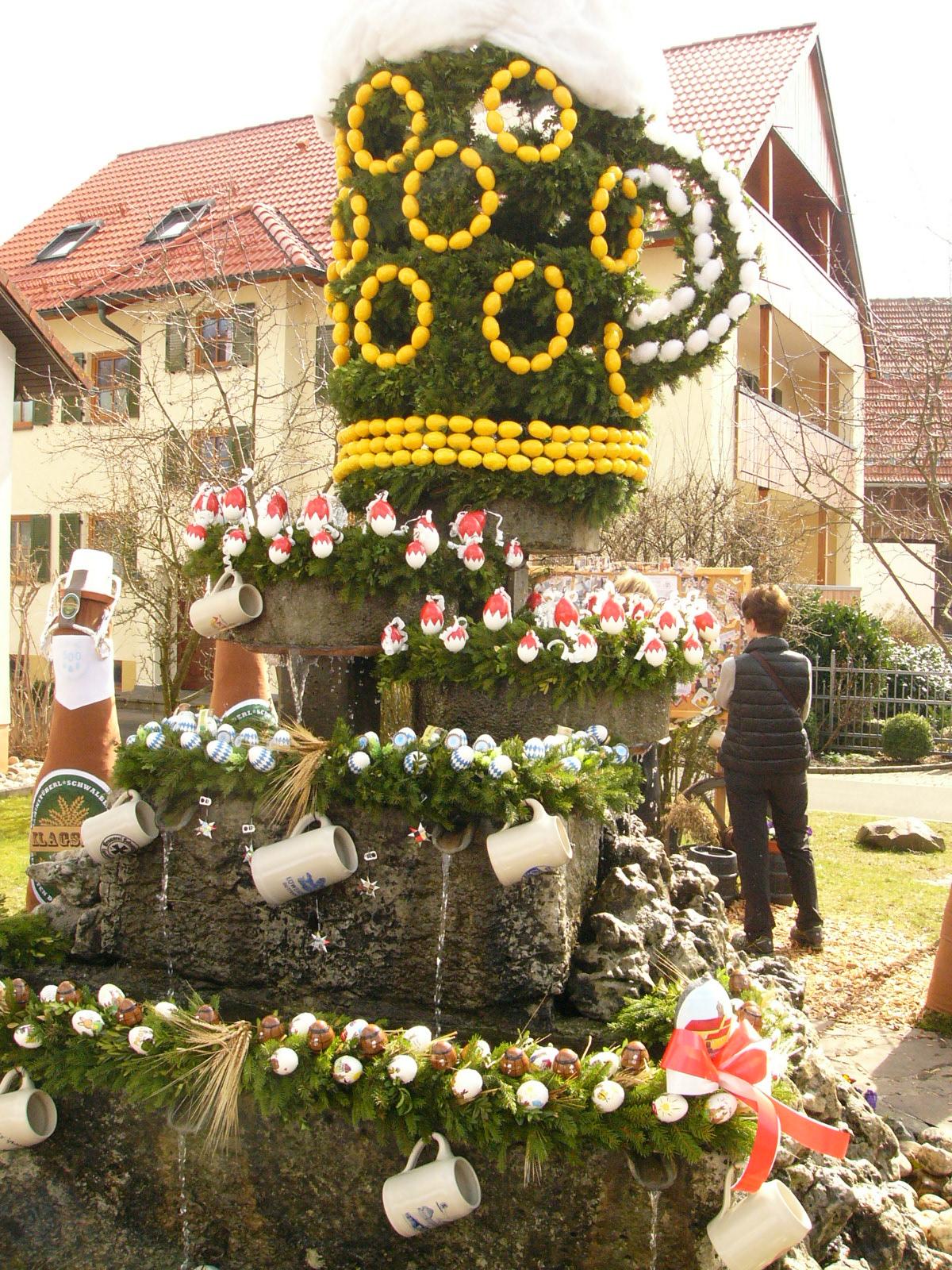 2016-03-27 Bierbrunnen in Kleingesee. Fo. J (1)