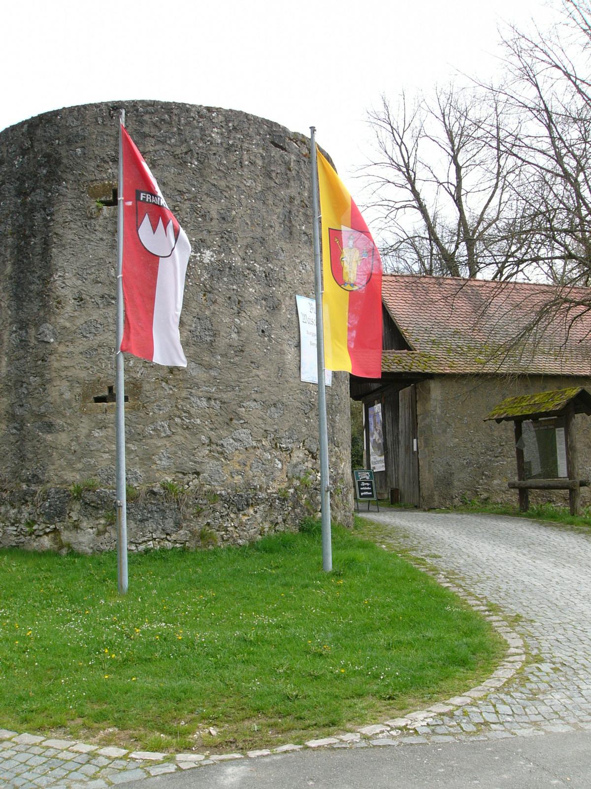2016-04-24 Waischenfeld Burgeingang Fo.J.Kalb