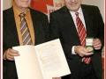 2008 Vorzeigefranke Wolfgang Hoderlein bekommt in Aufseß die erste Frankenmedaille.JPG