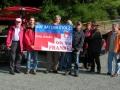 2008 9 Plakataktion anlässlich einer F.B. Wanderung im Frankenwald