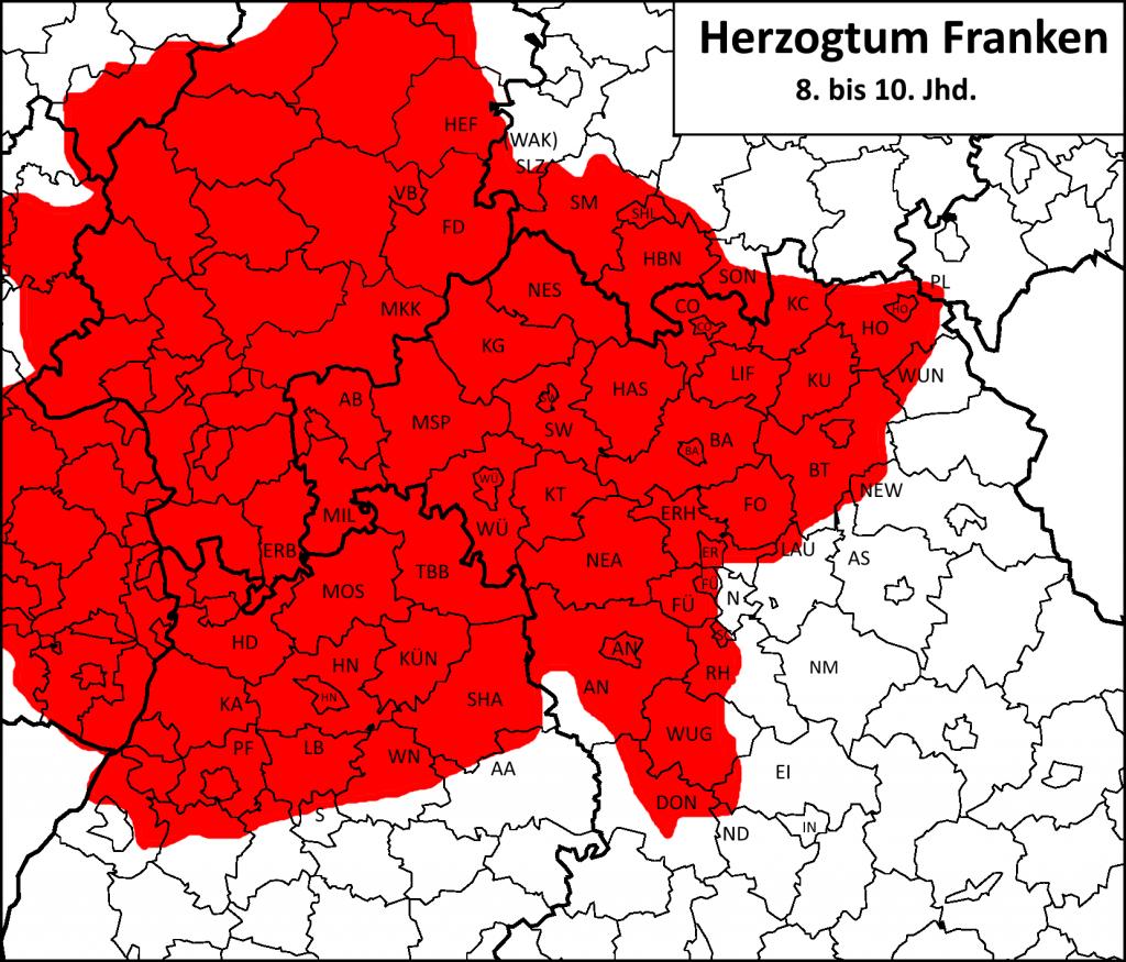 Herzogtum Franken