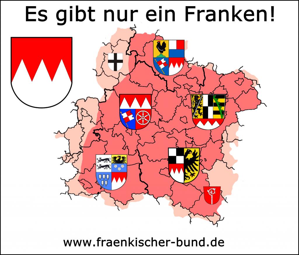 Franken Regierungsbezirke