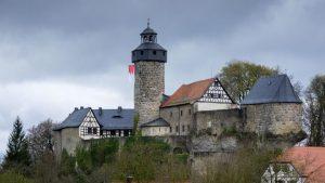 Zwernitz beflaggt